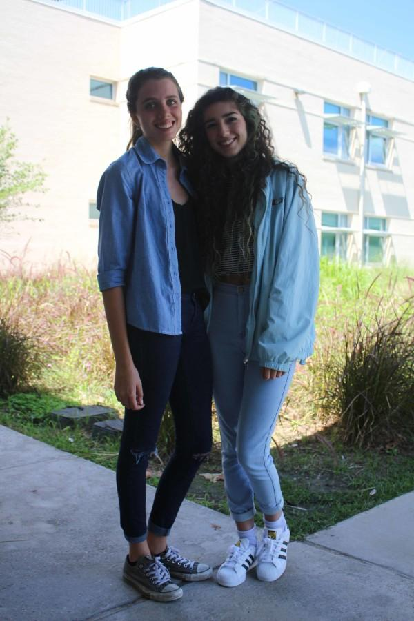Club presidents: Rachel Veldmen and Maddy Martinez