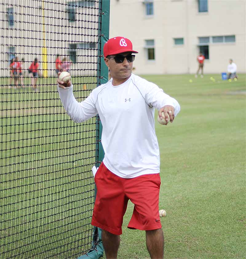 Fresh baseball coach brings new perspective to team