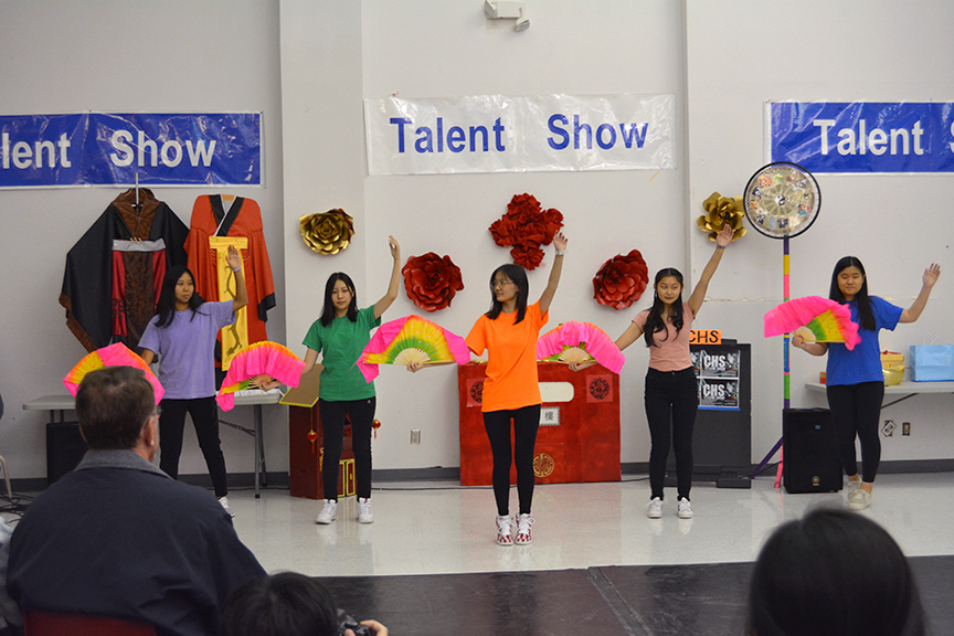 Chinese Talent Show Photos