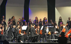 Winter choir and orchestra concert excites