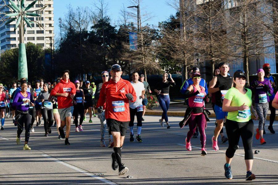 Principal, staff members participate in Houston Marathon