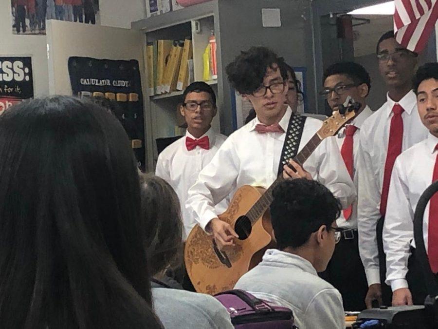 Singing Valentines Photos