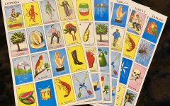 """""""Tablas"""" that are used to play in Loteria"""