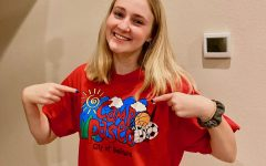 Senior Abby McMorris works in Camp Paseo as a camp counselor and takes on eight hour shifts everyday.