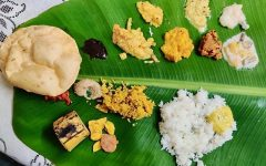 'Onam Sadhya' is a feast that South Indians have during the festival 'Onam'. Panicker's great-grandmother feels accomplished by the creation of a feast she spent hours creating.