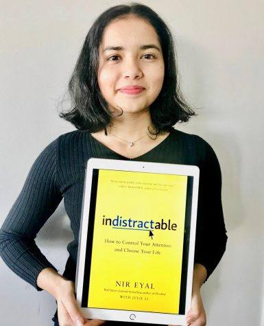 "Sonya Kulkarni uses her iPad to research, download and read books. Published in 2019, the book, ""Indistractable: How to Control Your Attention and Choose Your Life"" is a National Bestseller."