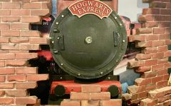 Located upstairs you can find The Hogwarts Express train as you enter the world of Harry Potter.