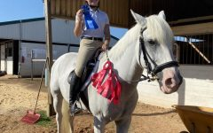 On Oct. 18, Chodzko competed in a home show at her riding facility. There she won a first place ribbon, one of many. Chodzko looks forward to more wins in the future.