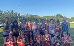 The women's lacrosse team celebrated the end of their season during their banquet picnic. Awards and honors were given to some of the players.