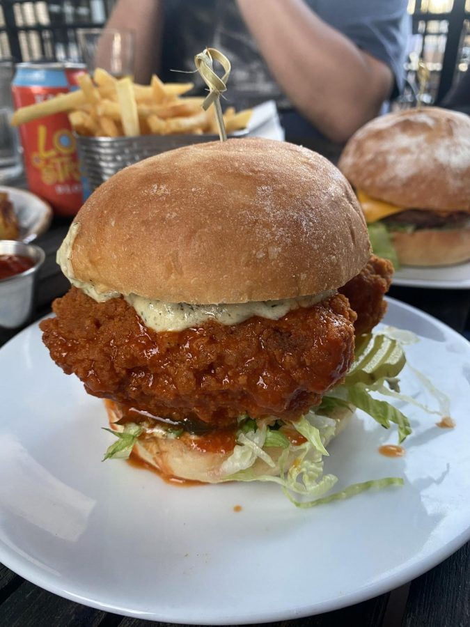 A+Spicy+Chicken+Sandwich+from+Verdine.+