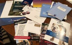 Iman receives mail from colleges almost daily showcasing their programs and campus life.